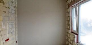 sienu tinkavimas gipsiniu tinku