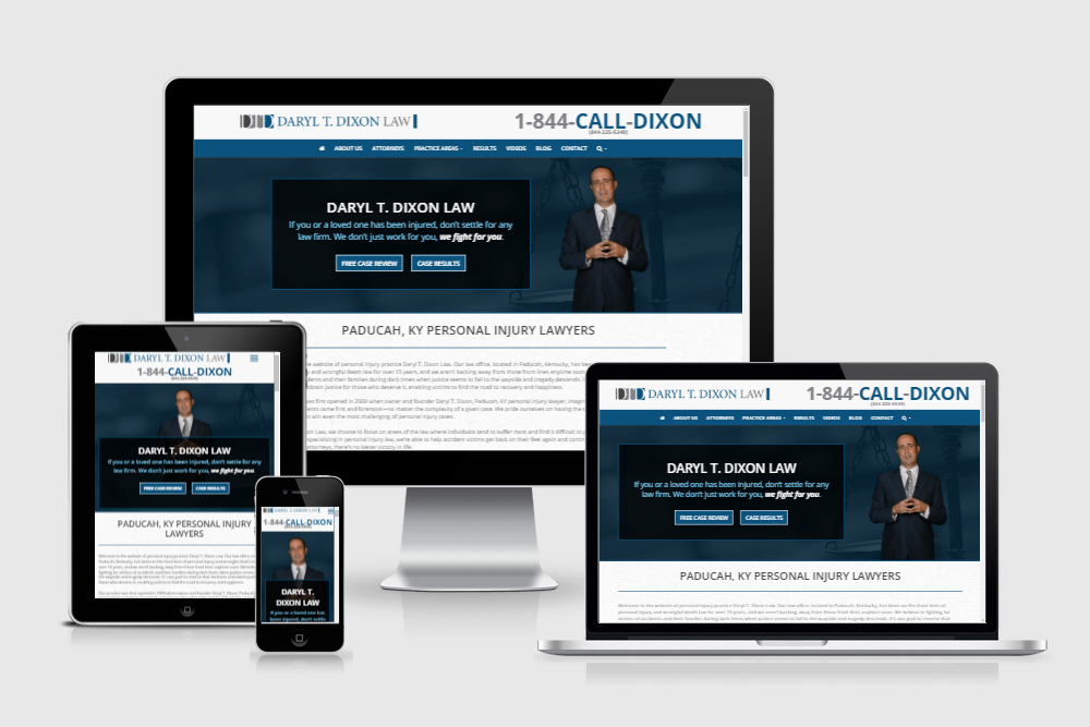 Welcome to the new Daryl T. Dixon Law website
