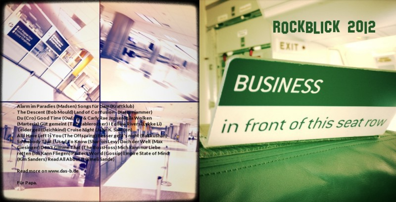 Cover vom Rockblick 2012