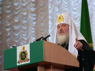 Patriarch Kyrill I. von Moskau zu Besuch in Polen, Foto: Wikimedia.org, Serge Serebro