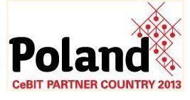 Polen Partnerland der CeBIT 2013, Logo