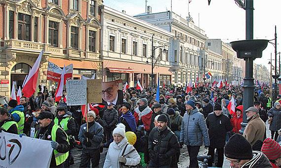 OD-Demonstration in Lodz am 23.1.2026