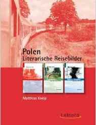 matthias kneip, polen, lietrarische reisebilder, cover