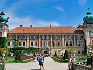 Schloss Lancut im südpolnischen Karpatenvorland, Foto: AndrzejO, CC BY-SA 3.0 pl