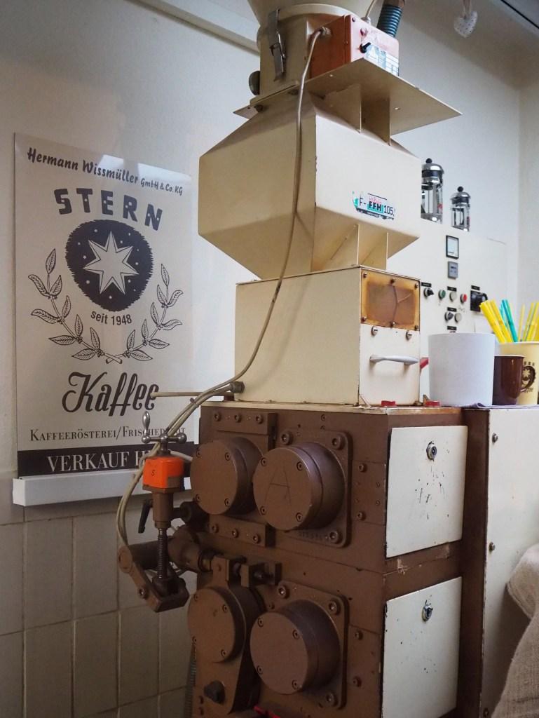 Kaffeerösterei Stern, Wissmüller, Frankfurt, Das vierte Zimmer
