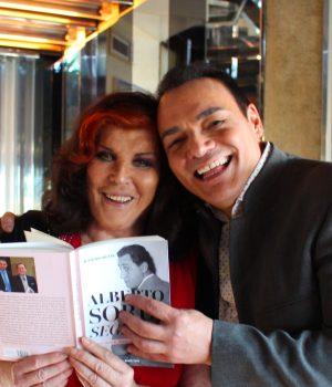 Igor Righetti con la contessa Patrizia de Blanck Settanta