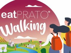 La grafica di eatPRATO Walking 2020