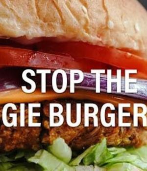 Veggie burger ban
