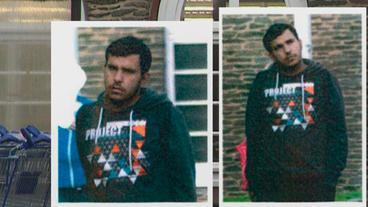 Das Fahndungsfoto der Polizei. Auf diesem Bild erkannten drei Syrer den Terrorverdächtigen.
