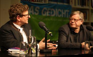 Die beiden Herausgeber von DAS GEDICHT 24 »Der Heimat auf den Versen« im Gespräch