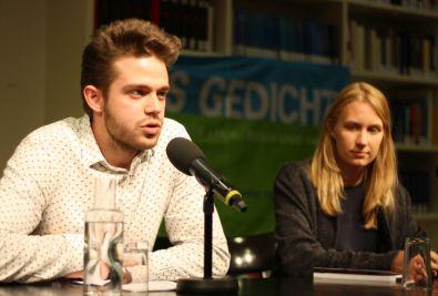 Leander Beil und Elena Kaufmann