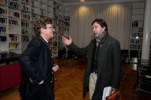 Anton G. Leitner und Ulrich-Johannes Beil. Foto: Volker Derlath