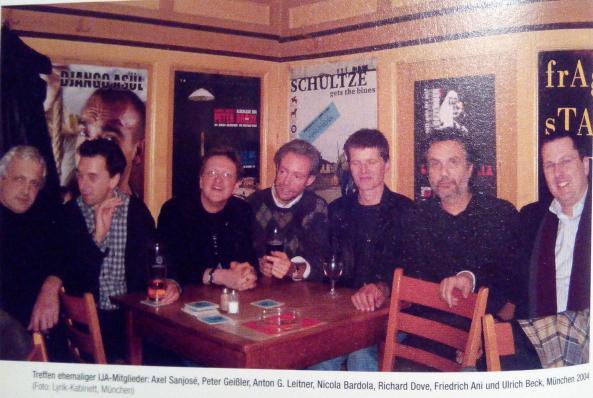 Treffen ehem. IJA-Mitglieder, München 2004. Foto: Ausschnitt aus DAS GEDICHT 13 (S. 104)