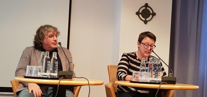 Hellmuth Opitz und Melanie Arzenheimer