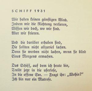 Joachim Ringelnatz Ferngruss Von Bett Zu Bett Worte Zum Tag