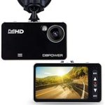 "DBPOWER 2.7"" LCD Dash Cam, HD Car DVR Camera Black Box Dashboard Camcorder with 120° Wide Angle 4XZoom Lens G-Sensor"