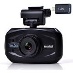 Best Seller SMART Car Recorder with GPS, MAISI® Super HD 1296P Color Black Box WDR Dashboard Camcorder, Black (170-degree...