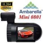 Toguard Mini 0801 Ambarella A2S60 1080P Car Dash Camera Mini DVR HDMI w/GPS Logger