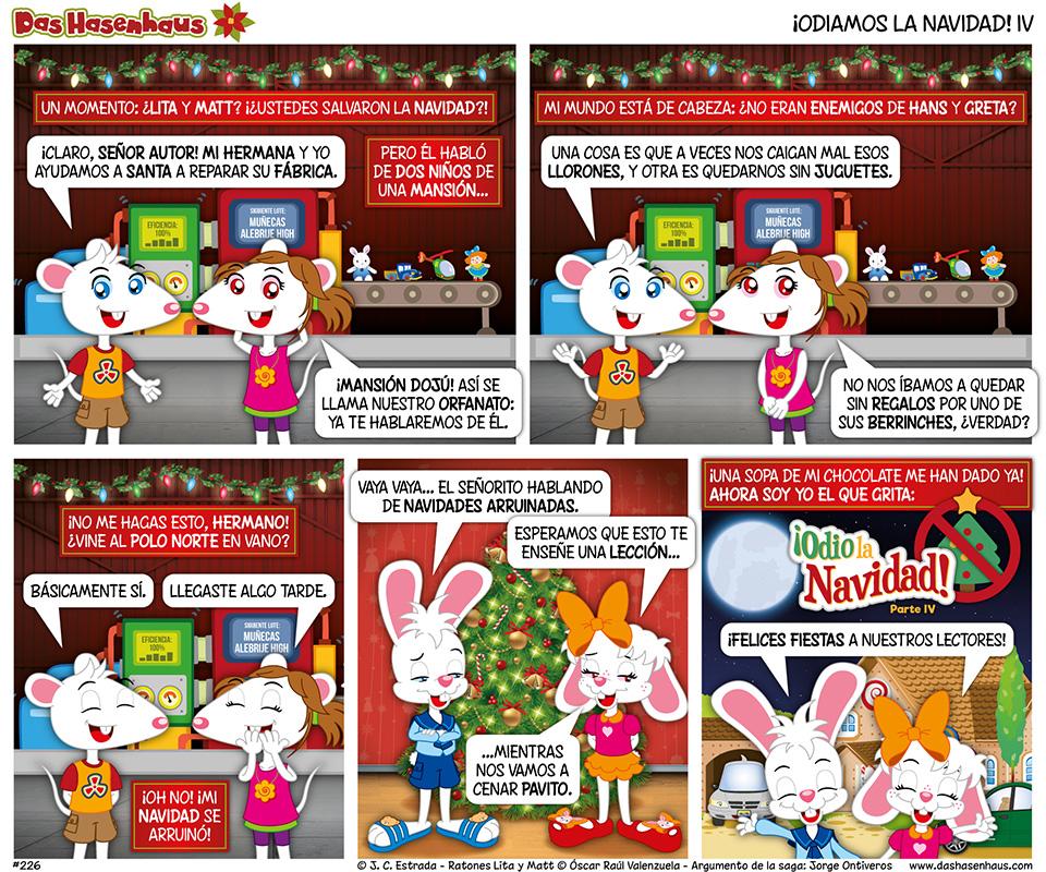 ¡Odiamos La Navidad! IV