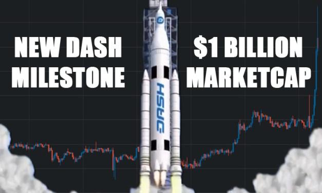 Dash Passes $1 Billion Market Cap