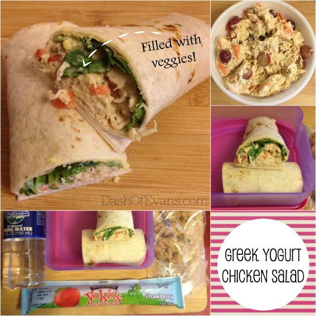 #StonyfieldBlogger, Stonyfield yogurt, chicken salad, healthy lunches, chia pudding, greek yogurt ranch, ranch dressing