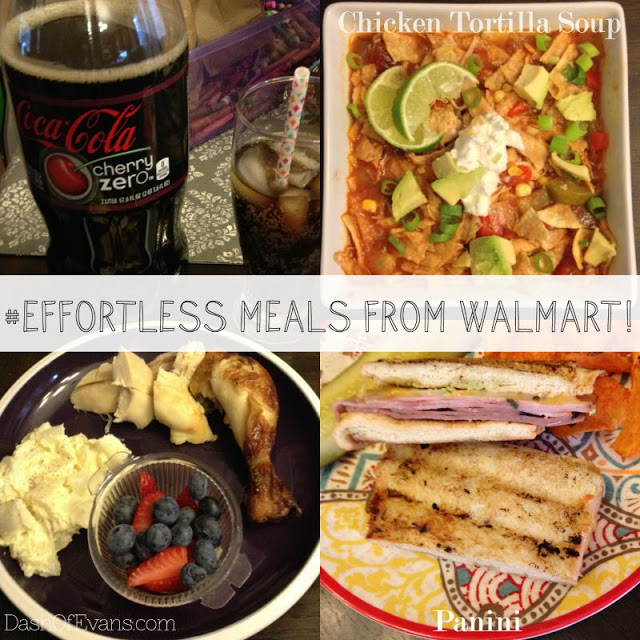 Walmart, #EffortlessMeals, Paninis, Chicken Tortilla Soup, #SlowCookerMeals, Meal Planning