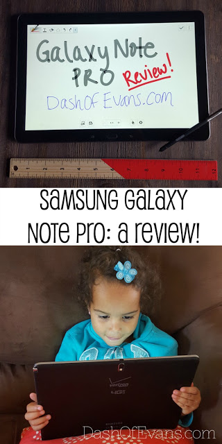 #VZreview, Verizon, Samsung Galaxy Note PRO, Tech reviews, tablet reviews