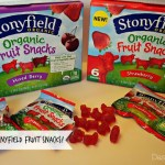 Tasty New Treat: Stonyfield Fruit Snacks...