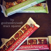 Find goodnessknows® bars in the check out lane at Walmart!
