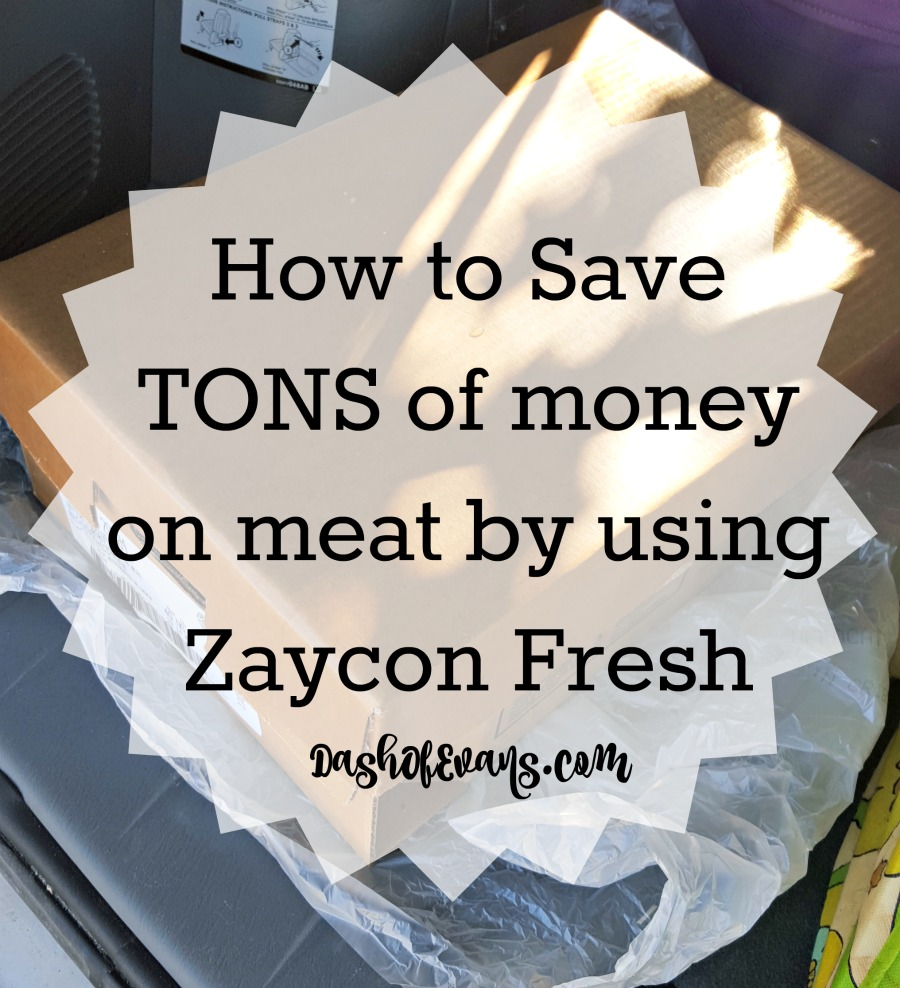 How to save TONS of money on meat by ordering from Zaycon Fresh! • @DashOfEvans