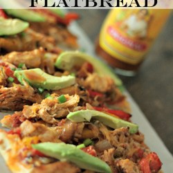 #PizzaFriday: Chicken Fajita Flatbread