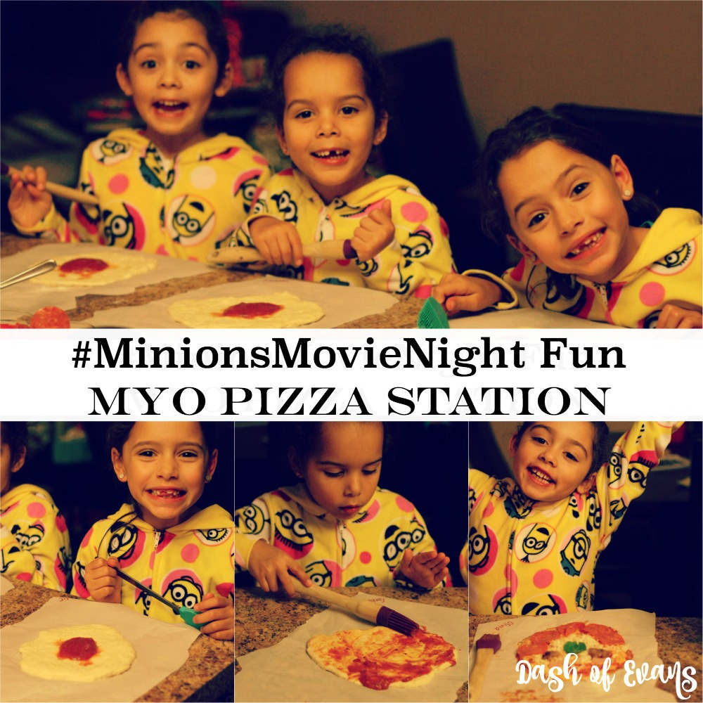 We LOVE family nights in our house and I had an extra special surprise for our #MinionsMovieNIght ! Check out the BEST pizza crust recipe and more on @DashOfEvans