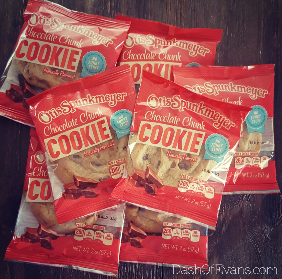Otis Spunkmeyer cookies coming to stores January 2016! Individually wrapped and ready for snacks & lunchboxes! #NationalCookieDay #NoFunkyStuff