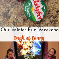 Our winter fun weekend with Babybel! via @DashofEvans