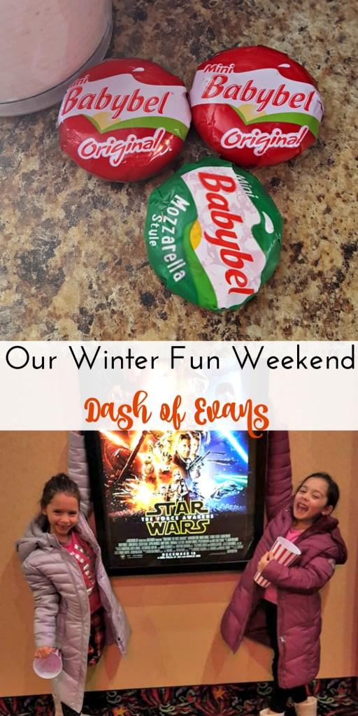Our winter fun weekend with Babybel! via @DashofEvans