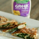 Chicken Caesar Quesadilla with Kale