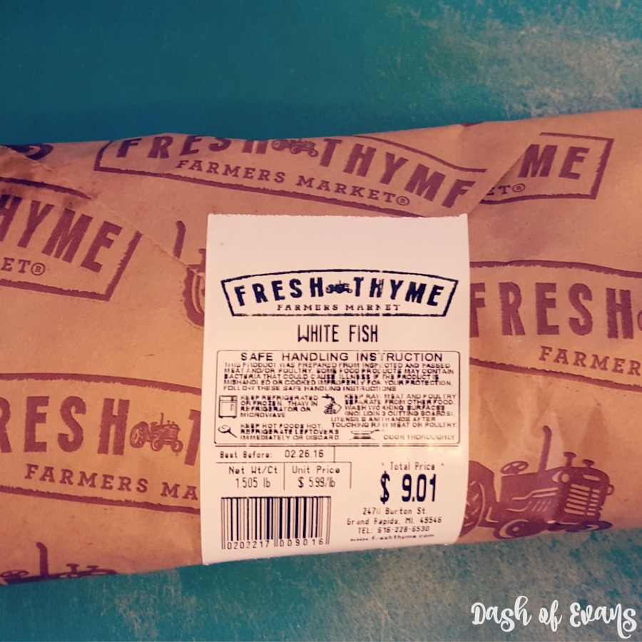 White Fish from Fresh Thyme!