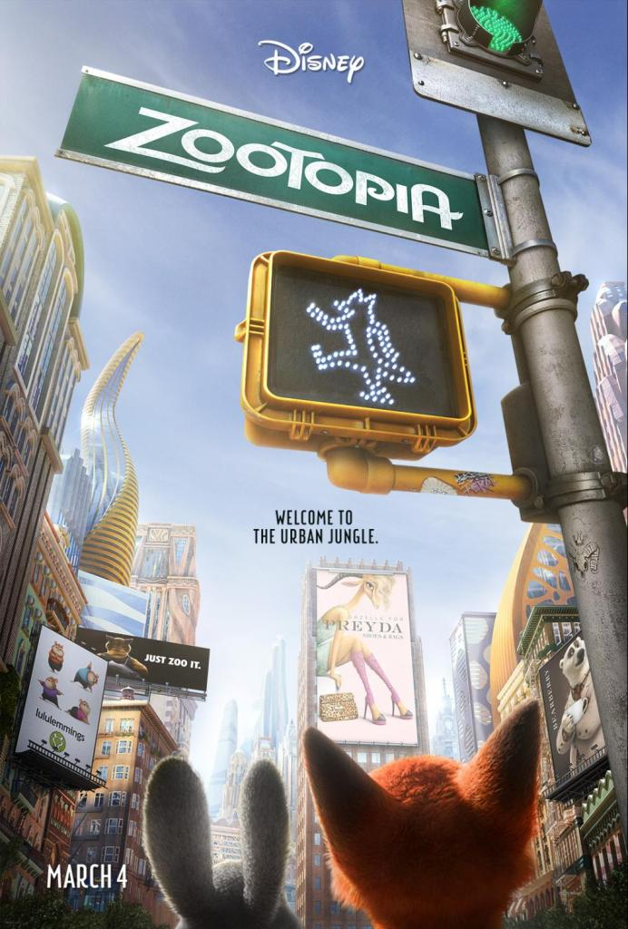 Disney's Zootopia hits theaters March 4th--check out @DashOfEvans review!