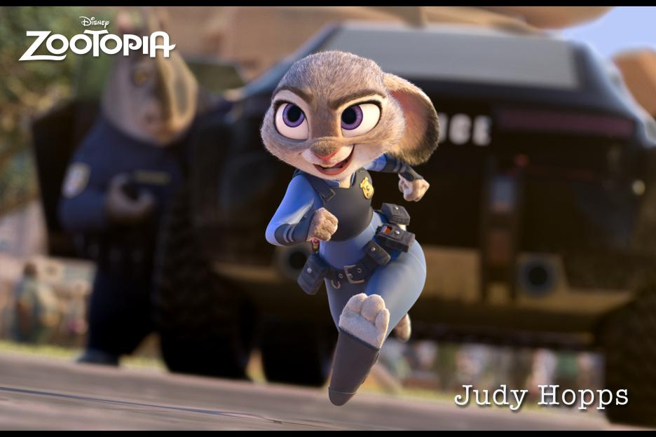 Catch Judy Hopps' adventure in Zootopia!