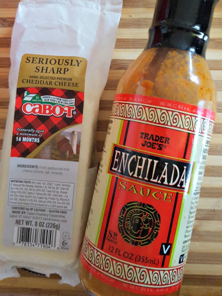 Trader Joe's has the BEST enchilada sauce. Perfect for this ground turkey lasagna! via @DashOfEvans