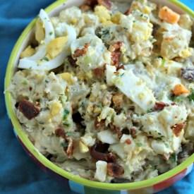 Creamy Loaded Ranch Potato Salad