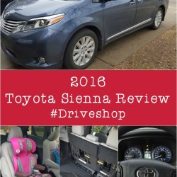 Toyota Sienna Review #DriveShop