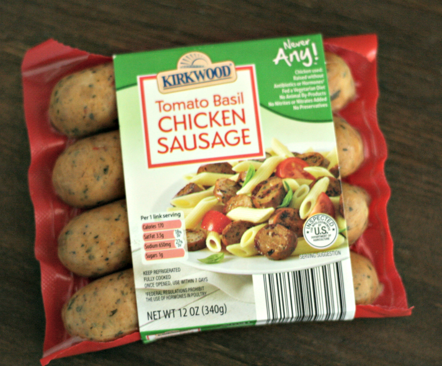 NeverAny line at Aldi offers products without added hormones or by-products. This chicken sausage is FAB! via @DashOfEvans