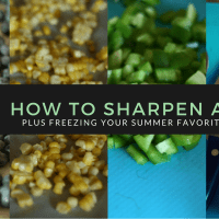 Having sharp knives are a kitchen MUST--find these great sharpener at @Walmart for under $10! via @DashOfEvans