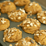 Delicious AND healthy Apple Pumpkin Muffins--perfect snack for the kiddos! via @DashOfEvans
