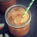 Apple Cider Slushie - A delicious treat for the whole family! via @DashOfEvans