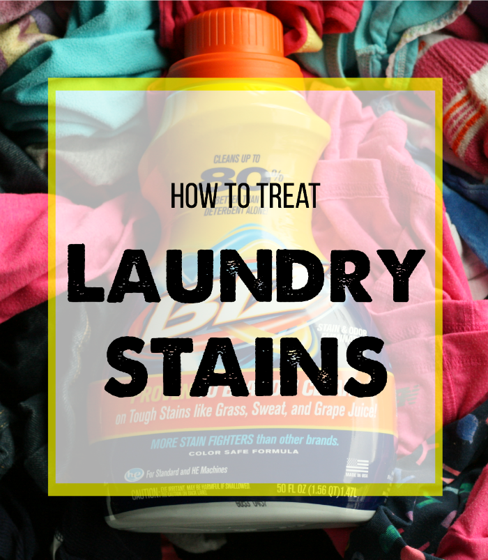 Laundry 101: 5 Tips for Laundry Stains via @DashOfEvans