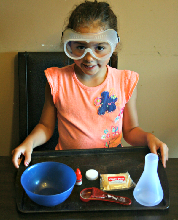 Our educational weekend fun with Lakeshore Learning products! This Young Scientist kit was SO fun! via @DashOfEvans