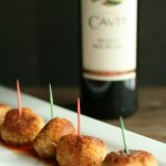 Delicious Risotto Bites--perfect for any gathering! via @DashOfEvans