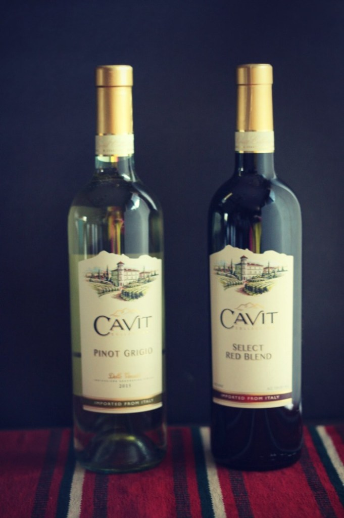 Cavit wine is delicious AND budge friendly. We love the Select Red Blend and Pinot Grigio for parties--everyone loves both! #LiveTheCavitLife